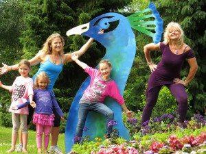 Family Fun with Daughter Stacey & grandkids  Raelia, Taya & Myanah