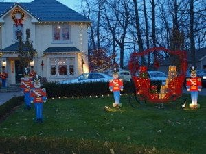 The sleigh is a new addition to the tradition