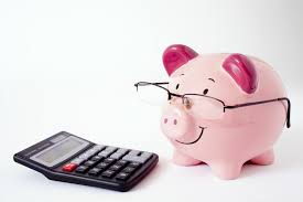 Piggy Calculates with Glasses