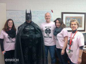 Enrich Brampton Batman Agnes Taylor Principal Yaciuk Batman news